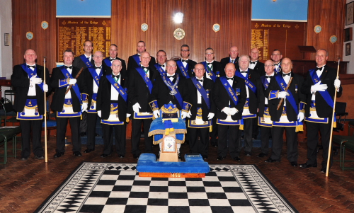 Office beraers of Lodge Camelon 1456